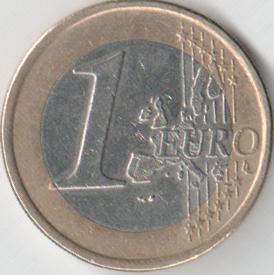 Монета 1 евро 2004 (Финляндия, Финский монетный двор)