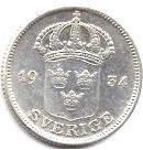 Монета 50 эре 1934 (Швеция)