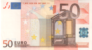 Банкнота 50 евро 2002 (ЕС)