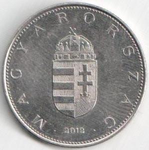 Монета 10 форинтов 2012 (Венгрия)