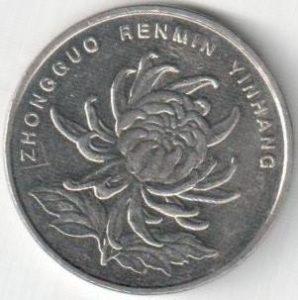 Монета 1 юань 2013 (Китай)